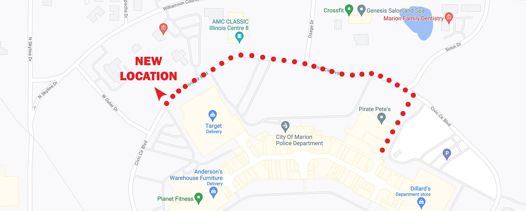 Man-Tra-Con New Location Map